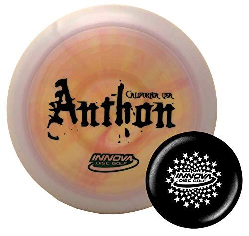 Innova Disc Golf Tour Series Josh Anthon Swirled Star Boss 173-175g with Stars Stamp Innova Mini (Colors Will Vary)