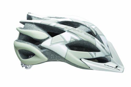 Cratoni Rocket Bicycle Helmet, White/Grey, Large/X-Large