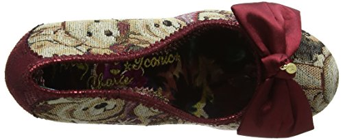 Multi C Rouge Fermé Bout Femme Escarpins Fries French Irregular Choice Red X1n0AvAz