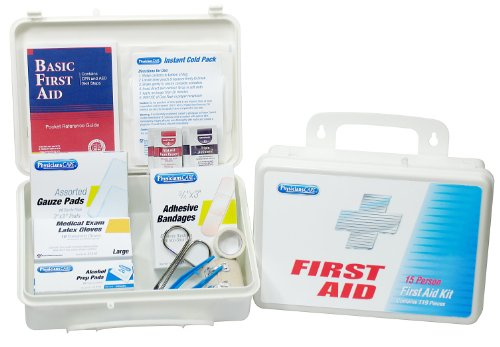 PhysiciansCare by First Aid Only Office First Aid Kit For 25 People, Contains 131 Pieces