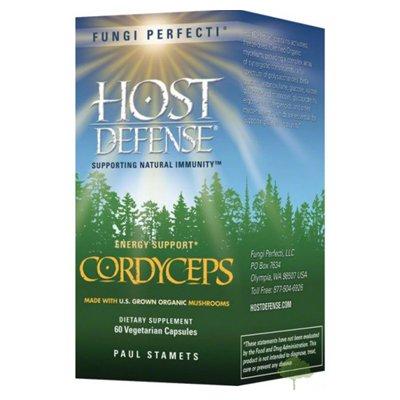 Грибы Perfecti - хост обороны Кордицепс Energy Поддержка - 60 Вегетарианская капсулы