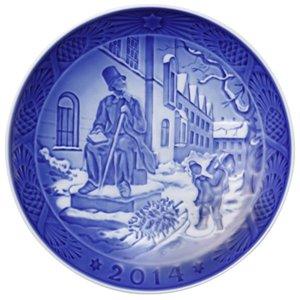 Royal Copenhagen Christmas Plate 2014 -