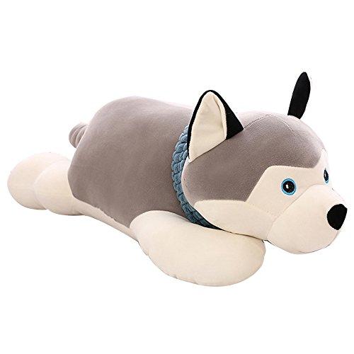 RUBB Sleeping Cat Hugging Pillow Stuffed Animals Plush Soft Toy color : Beige