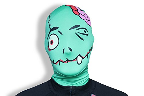 Morphsuits Morphmask Premium Frankenmorph, Green/Black/Grey, One Size ()