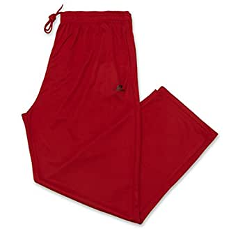 Russell Athletic Men's Big and Tall Dri-Power Pant Red/Black XLT