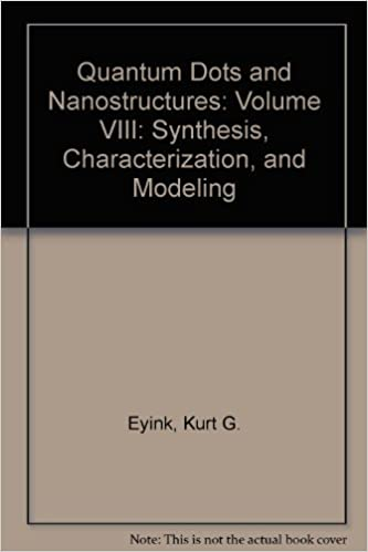 Quantum Dots and Nanostructures: Synthesis, Characterization, and Modeling VIII (Proceedings of SPIE)