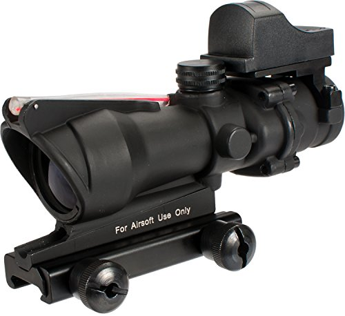 Evike - Avengers 4x32 Magnified Scope w/ Red Dot Reflex Sight For Airsoft by Evike