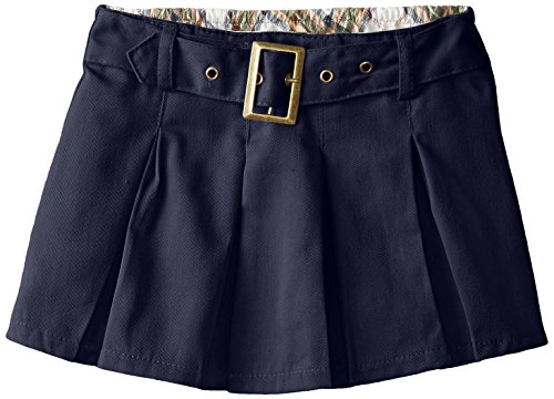 Eddie Bauer School Uniform Girls Scooter, Pleated Navy, 5