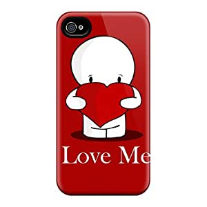 Quality Mialisabblake Case Cover With Love Nice Appearance Compatible With Iphone 4/4s
