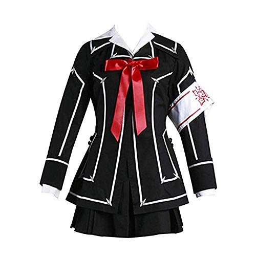 Vampire Knight Kuran Yuki Cosplay Cross Academy Girl's School Uniform Cosplay Costume (S, Kuran Yuki)
