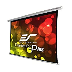 Elite Screens Cinetension B Series 180 Diagonal 16 9 Tab Tensioned Electric Drop Down Front Projector Screen Te180xwhb