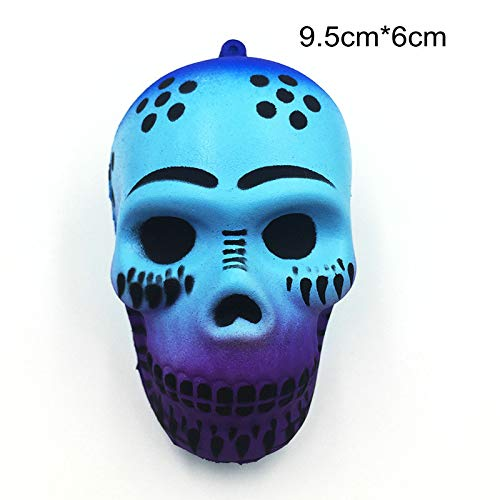 1 piece New Slow Rising Squishy Simulation Skull