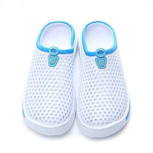 Unisex Slippers Clogs Shoes Aiffany Garden Sandals White d0qHgw6Sxw