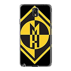 Durable Hard Cell-phone Cases For Samsung Galaxy Note3 (NLF18805uXUI) Customized Beautiful Machine Head Band Image