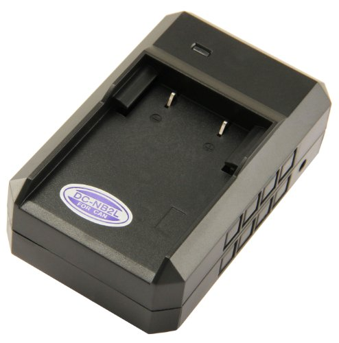 STK's Canon NB-2LH Battery Charger - for Canon Digital Rebel XT, XTi, Canon EOS 350D, Kiss Digital N, Canon Powershot G7, S30, S50, S70, S80, S45, S60, S40, Canon Optura 30, 50, 60, 40, 400, 500, Canon Elura 60, 50, 65, 70, 80, 85, 90, 40mc, Canon ZR-200 (Digital Camera 400 Battery)