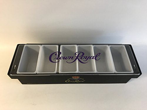 Crown Royal Condiment Holder & Bar (Crown Royal Drink)