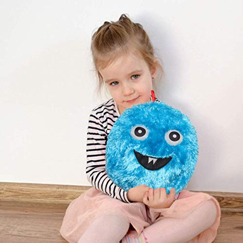 """Balls for Kids,Inflatable Balls, Monster Plush Ball,16"""" Inflatable Balls with Air Pump - Indoor and Outdoor Fun Emoji Ball,Gifts for Boys and Girls"""
