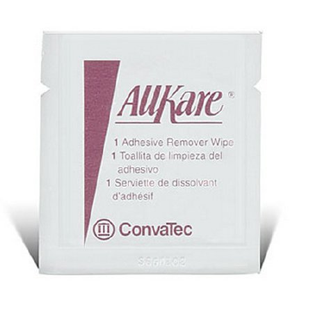 Convatec 74364900 Adhesive Remover Allkare Wipe 037436 Box Of 50