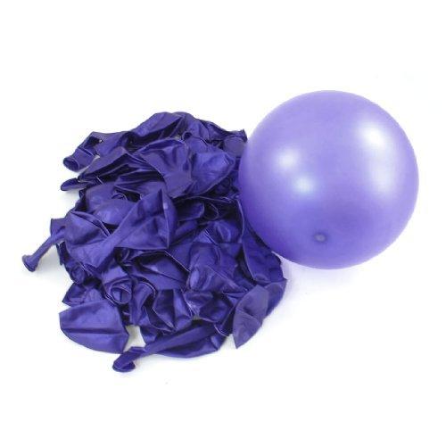 eDealMax Lattice Circle Balloons decorazione Della Festa nuziale 80 Pz Viola