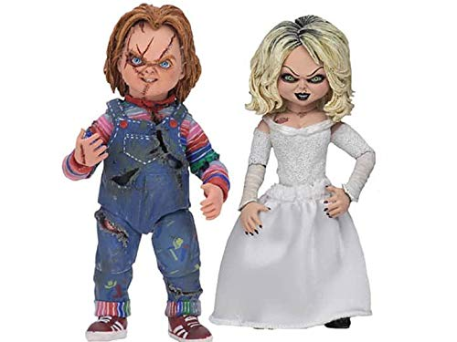 "NECA - Bride of Chucky - 7"" Scale Action Figure - Ultimate Chucky & Tiffany 2-Pack from NECA"