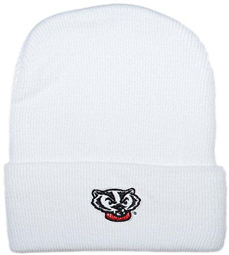 - Creative Knitwear University of Wisconsin Bucky Head Newborn Knit Cap