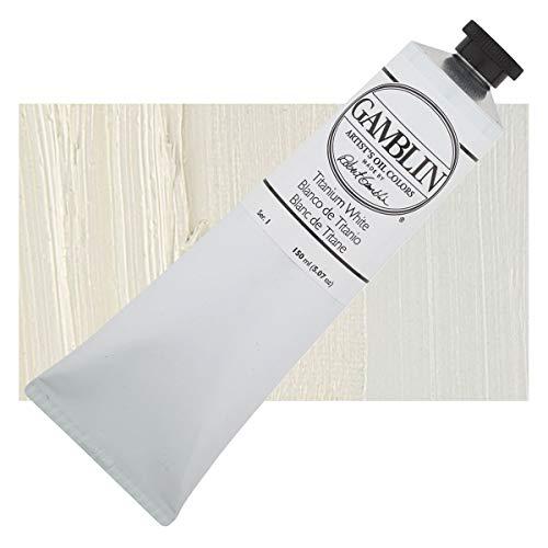 Gamblin Artist Oil Color – Titanium White – 150 ml Tube
