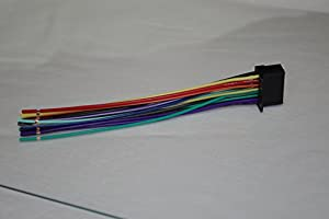 41yBdXrB0GL._SX300_ amazon com wire harness for pioneer avh 200bt, avh 100dvd, mvh avic-u310bt wiring diagram at readyjetset.co