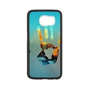 Samsung Galaxy S6 Cell Phone Case Black Handprints GY9075900