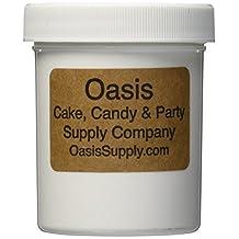 Oasis Supply Bakers EZ Way Dragees Sugar Cake Cupcake Cookie Sprinkles, 8mm, Gold