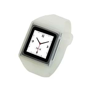 ¿Tunewear reloj con funda para iPod Nano 6 G Protector de pantalla con? Transparente