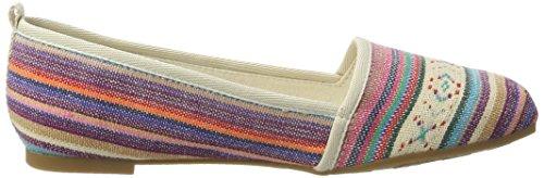 Tamaris Damen 24668 Slipper Mehrfarbig (MULTICOLOUR 990)