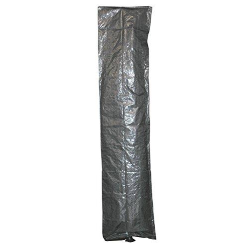 Wetterschutzhülle Schutzhülle für Ampelschirme grau Reißversch cm bis 3 Meter Ø
