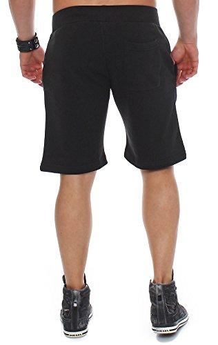 Nero Pantalone Felpa Di Corti Cotone In Uomini Finchman 0I85wqn4