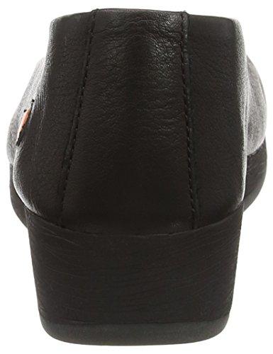 Softinos black Scarpe Donna Nero Asa414sof wqrYwvC