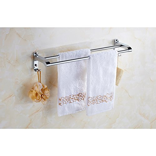 new Stainless steel wall mounted Towel Bar/Bathroom Towel Bar/pole pole/bath towel rack/towel rack/Bathroom Accessories/Pole-H