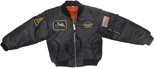 Kids Military Air Force Style Insignia Patches MA-1 Flight - Jacket Camouflage Flight Kids