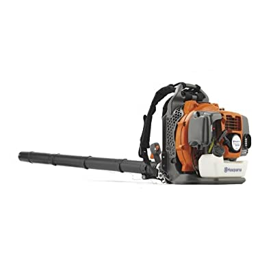 Husqvarna 965877502 350BT 1.6 kW 50.2 cc 7500 rpm 180 MPH Backpack Leaf Blower with 2.1 HP X-Torq engine (CARB Compliant)