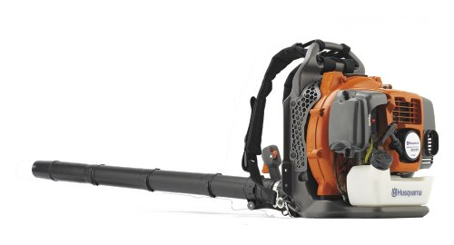 Husqvarna 965877502 350BT 1.6 kW 50.2 cc 7500 rpm 180 MPH Backpack Leaf Blower with 2.1 HP X-Torq (Powerful Leaf Blower)