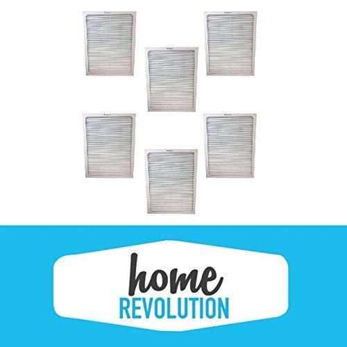 6 Blueair 500/600 Series Home Revolution Brand Air Purifier Filter; Fits Models; 501, 503, 550E, 601