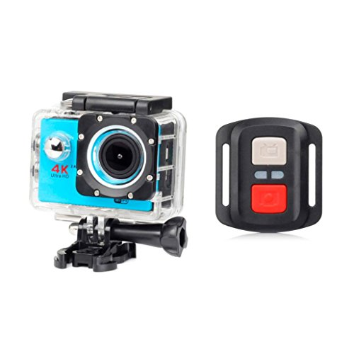 GOTD New 1080P HD WIFI Remote H16R Action Sports Camera Camcorder, Blue by Goodtrade8
