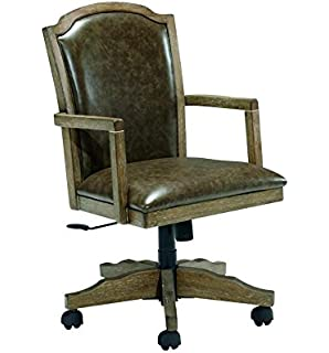 signature design by ashley h688 01a tanshire collection home office desk chair grayish brown alymere home office desk