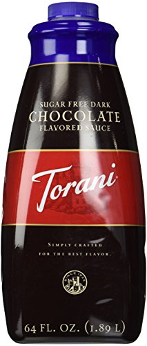 Free Chocolate Sauce Sugar Torani - Torani Sugar Free  Chocolate Sauce, 64-Ounce