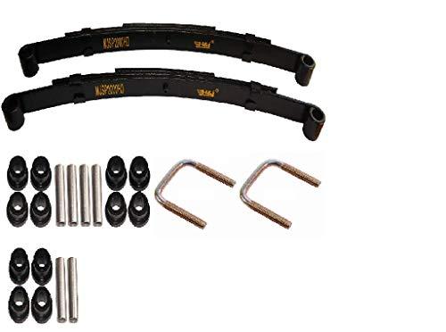 3G Heavy Duty Rear Suspension Rebuild Kit for EZGO TXT Golf Carts 1994+ ()