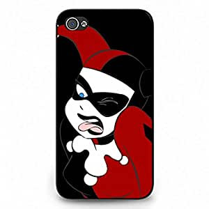 295 joker harley phone case The Dark Knight phone case joker batman phone case black cover case for Iphone 4 4S
