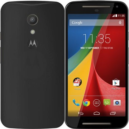 2010Kharido Crystal Clear Transparent Hard Back Cover For Motorola Moto E2 2Nd Gen 2015