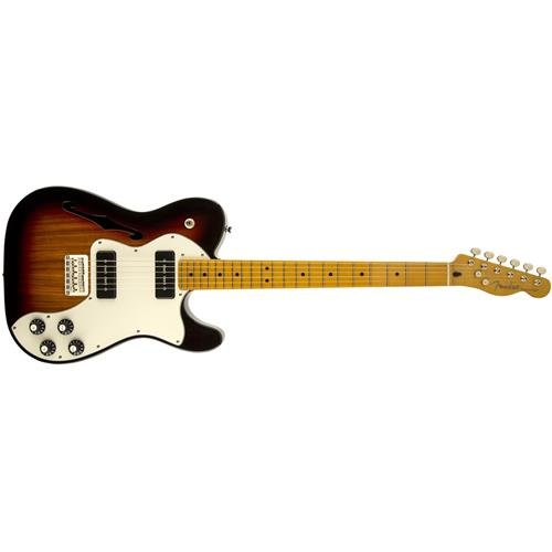 Fender Modern Player Tele Plus Electric Guitar, Honey Burst, Maple Fretboard