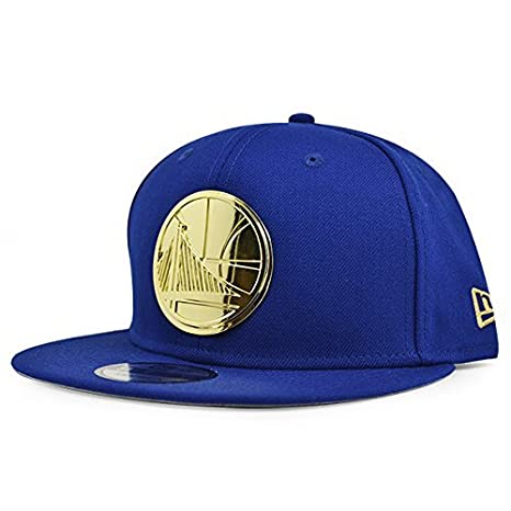 e5405c27ba5 Image Unavailable. Image not available for. Color  New Era Golden State  Warriors Metal Badge Snapback NBA ...