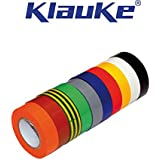Klauke - 10 Ruban Isolant PVC usage courant Panaché