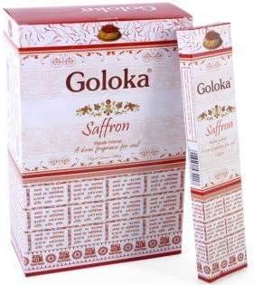 Goloka Incienso Azafrán
