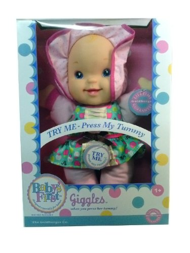 Baby's First Giggles Doll Especially Designed for Babies